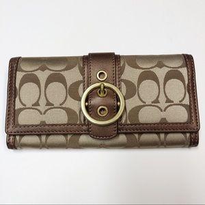 New Coach slim envelope wallet.